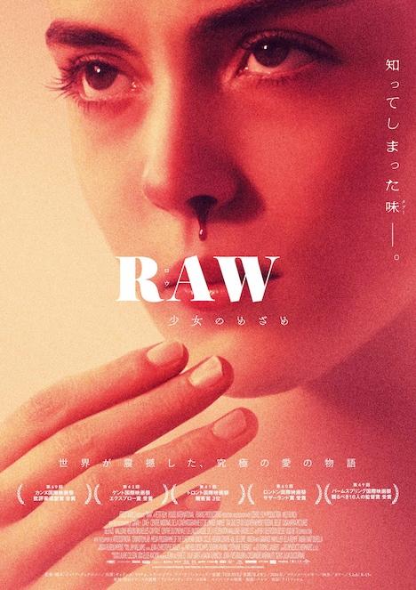 「RAW~少女のめざめ~」ポスタービジュアル
