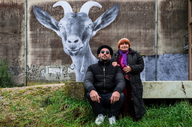 「顔たち、ところどころ」 (c)Agnes Varda-JR-Cine-Tamaris, Social Animals 2016