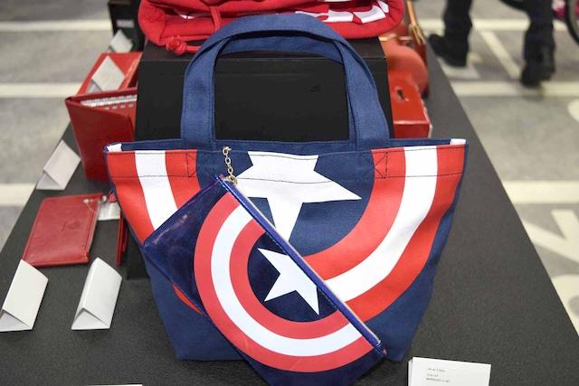 キャプテン・アメリカのランチバッグ。
