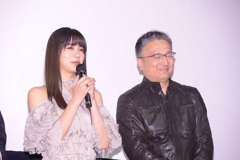左から池田エライザ、西海謙一郎。