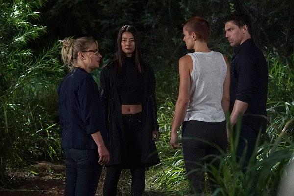 「マーベル インヒューマンズ」に出演したローカス役のすみれ(左から2人目)。(c)2017 MARVEL & ABC Studios