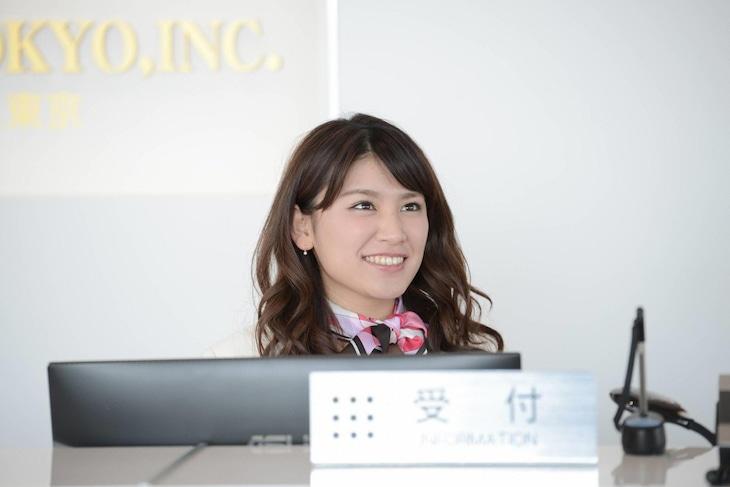 ドラマ「KISSしたい睫毛」より、久松郁実演じる飯山由愛。(c)フジテレビ