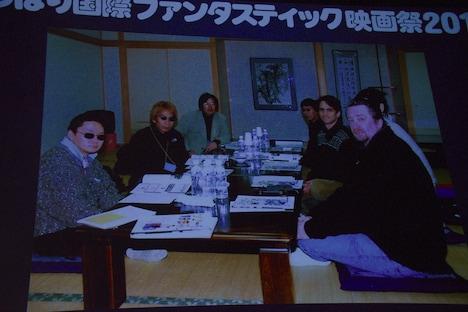 大杉漣が審査員として参加したゆうばり国際冒険・ファンタスティック映画祭'99の様子。