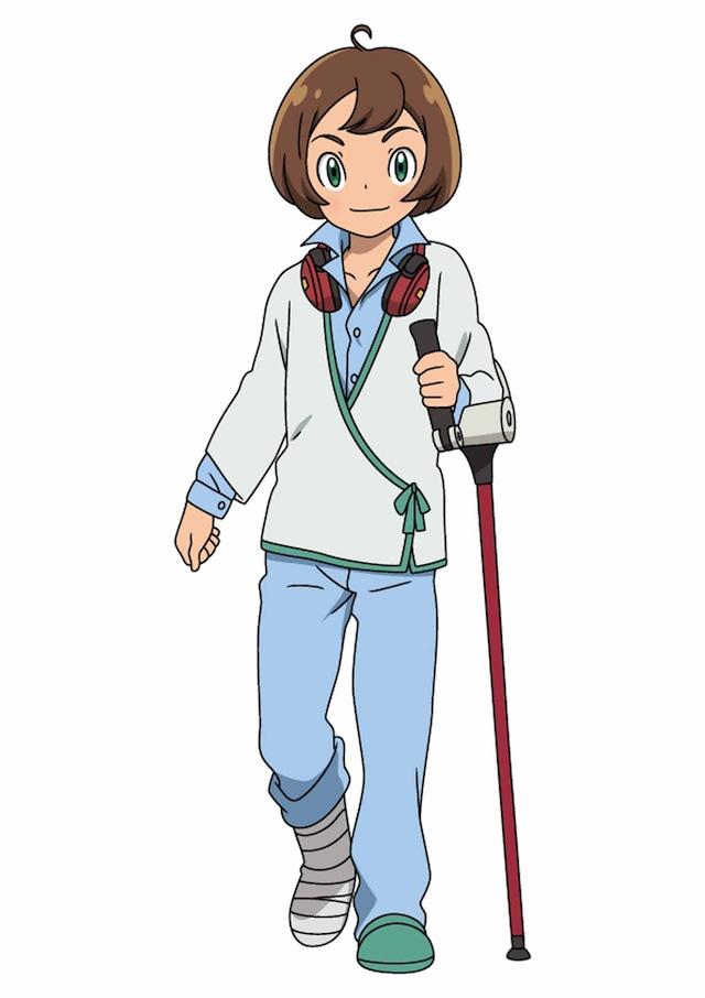 「劇場版ポケットモンスター みんなの物語」より、中川翔子演じるリク。