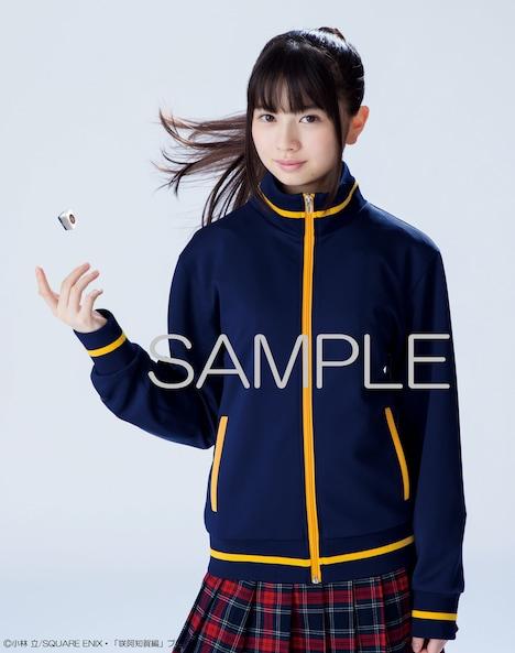 「咲-Saki-阿知賀編 episode of side-A」完全生産限定版 Blu-rayに封入されるジャージの着用イメージ。