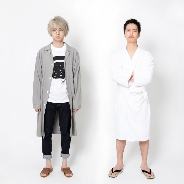左から冬ノ介役の伊野尾慧(Hey! Say! JUMP)、夏太郎役の戸塚祥太(A.B.C-Z)。