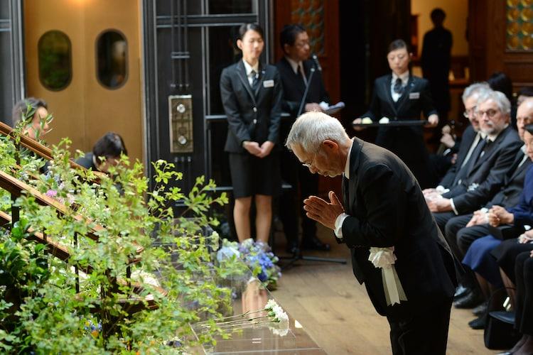 「高畑 勲 お別れの会」の様子。