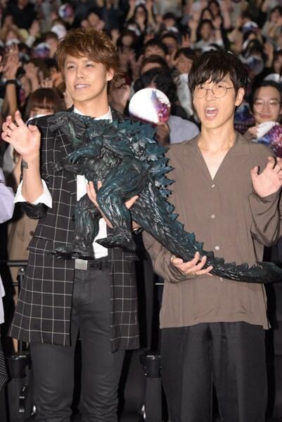 左から宮野真守、櫻井孝宏。