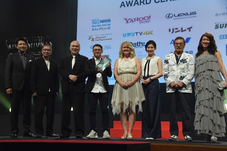 ショートショート フィルムフェスティバル&アジア2018 アワードセレモニーの様子。