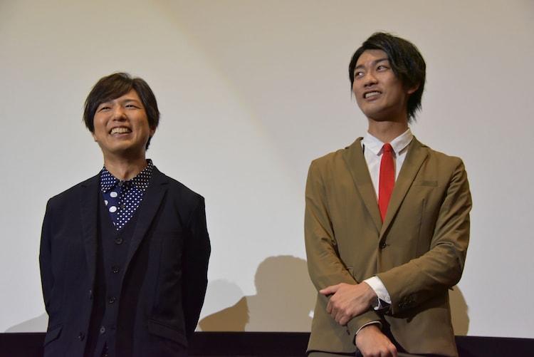 左から神谷浩史、南圭介。