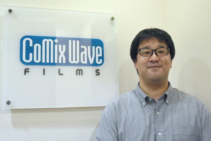 「詩季織々」プロデューサーの堀雄太。