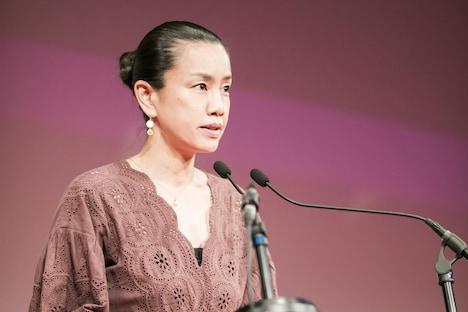 国際コンペティション部門の審査委員長を務めた渡辺真起子。