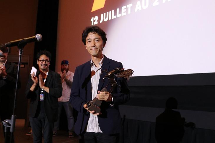 第22回ファンタジア国際映画祭で「Outstanding Achievement Award 2018」を受賞した佐藤信介。