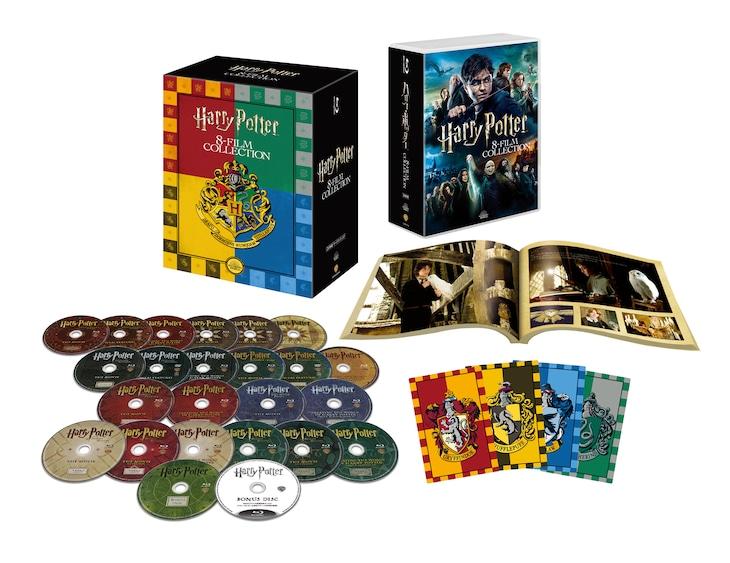 「ハリー・ポッター コンプリート 8-Film BOX<バック・トゥ・ホグワーツ仕様>」展開図