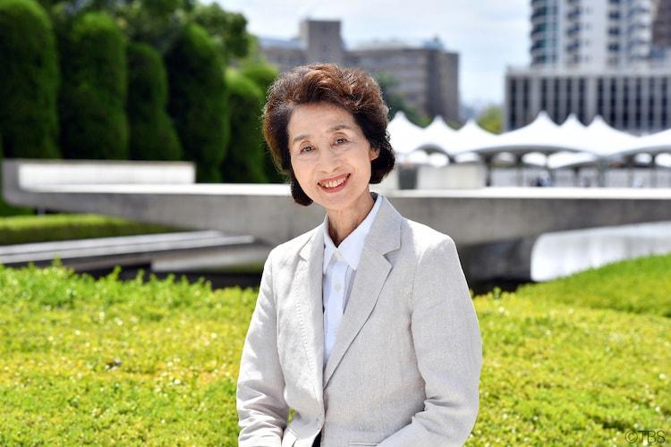 日曜劇場「この世界の片隅に」より、節子役の香川京子。