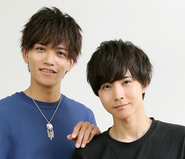 左から藤田富、前嶋曜。