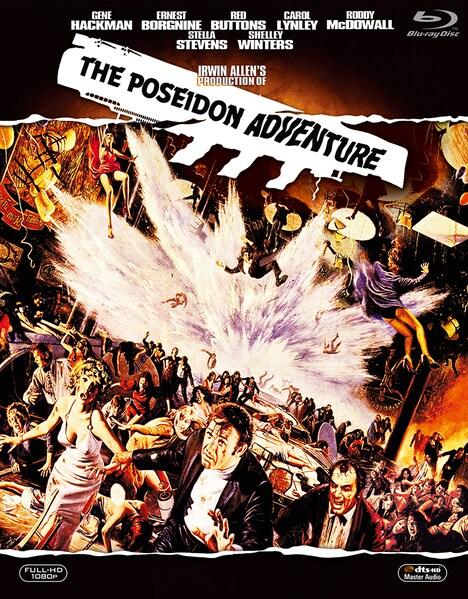 「ポセイドン・アドベンチャー(1972年)」コレクターズBlu-rayBOXのビジュアル。