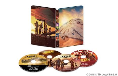 「ハン・ソロ/スター・ウォーズ・ストーリー」4K UHD MovieNEXスチールブック