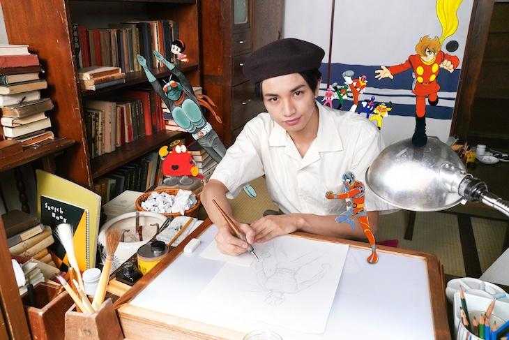 「ヒーローを作った男 石ノ森章太郎物語」ビジュアル