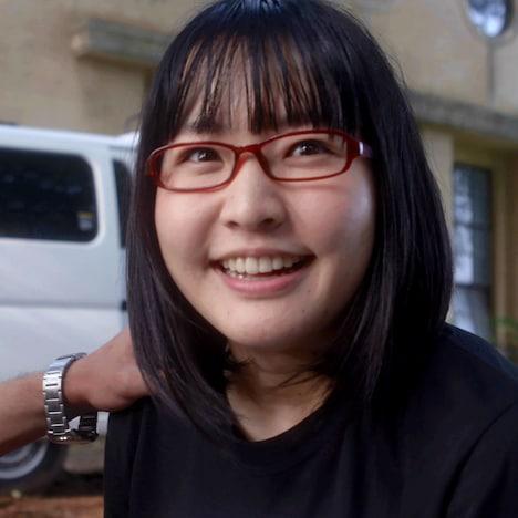 松浦早希役の浅森咲希奈。