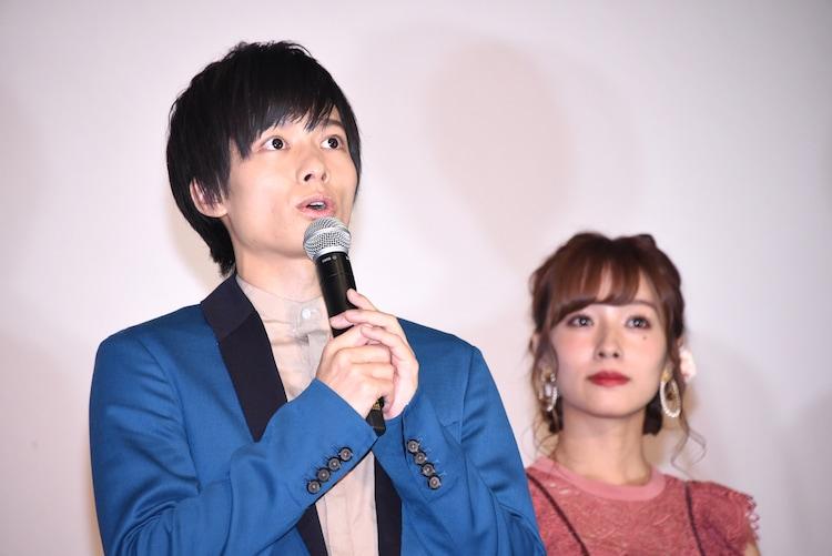 左から小澤廉、前田希美。