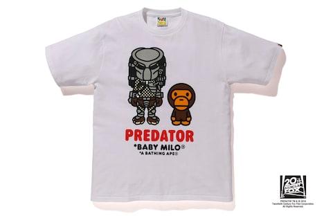 BABY MILO(R) PREDATOR TEE #1(白・黒2種 / 8424円)