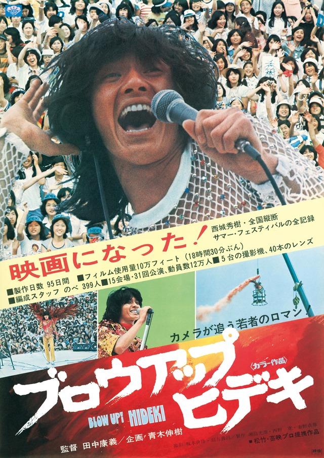 「ブロウアップ ヒデキ」 (c)1975 松竹株式会社