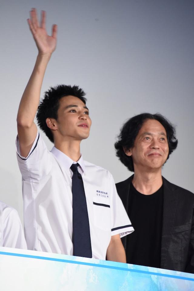 左から中田圭祐、長谷川康夫。