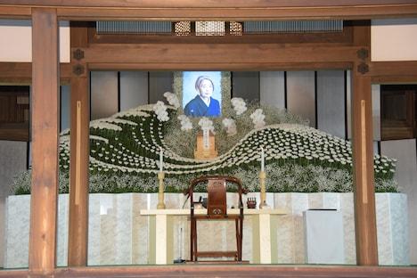 樹木希林の祭壇。