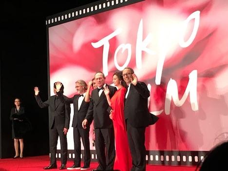 2017年に開催された第30回東京国際映画祭の様子。