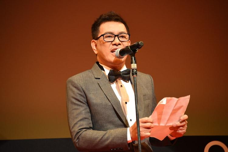 第31回東京国際映画祭コンペティション部門審査委員長のブリランテ・メンドーサ。
