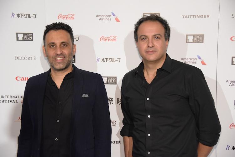 左からヤニブ・ビトン、サメフ・ゾアビ。