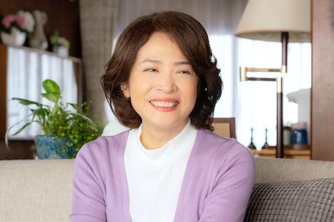 中田喜子演じる芳江。