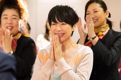 西田尚美演じる貴子。