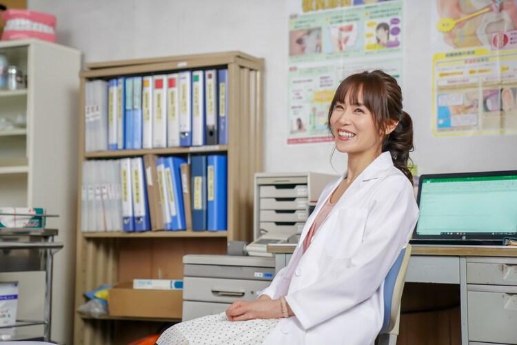 「凜-りん-」より、山口紗弥加演じる里中のぞみ。