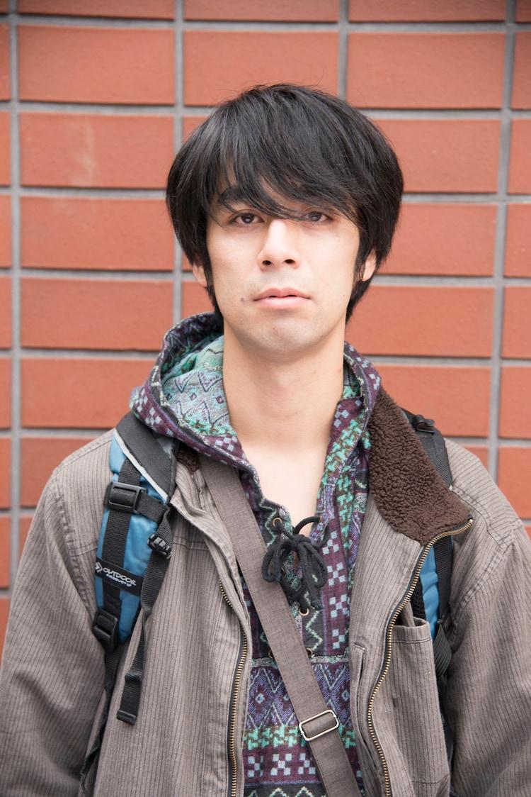 カトウシンスケ演じる坂田。