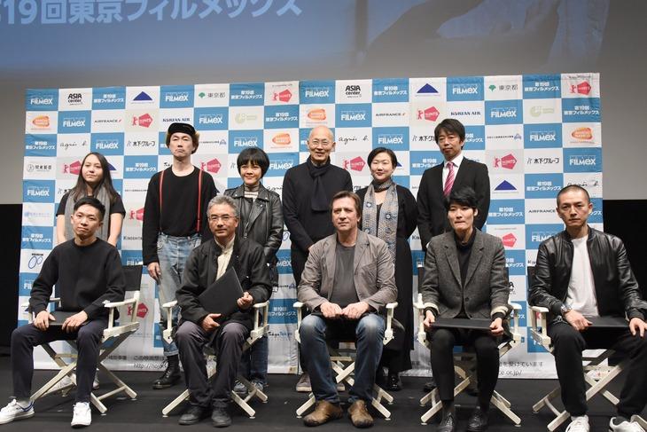 第19回東京フィルメックス授賞式の様子。