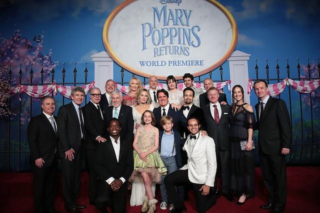 「メリー・ポピンズ リターンズ」アメリカプレミアの様子。