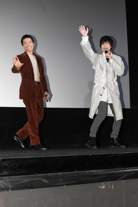 左から宮崎秋人、小澤廉。