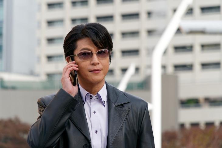 「相棒 season17」の元日スペシャル「ディーバ」より、及川光博演じる神戸尊。