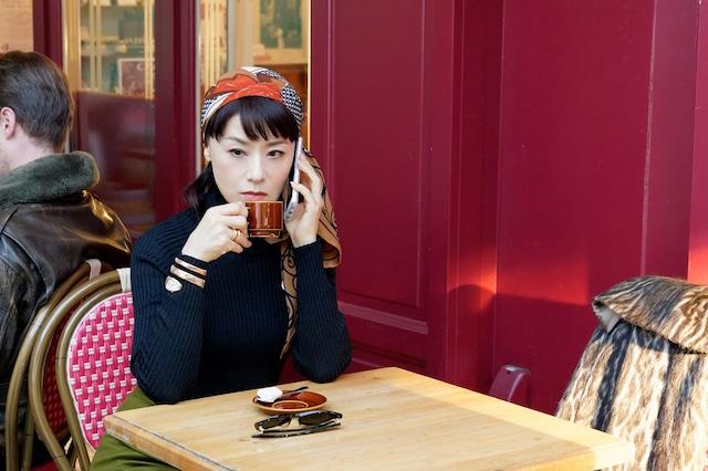 「相棒 season17」の元日スペシャル「ディーバ」より、大地真央演じる神崎瞳子。