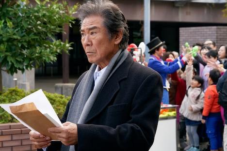 「相棒 season17」の元日スペシャル「ディーバ」より、西岡徳馬演じる敦盛劉造。