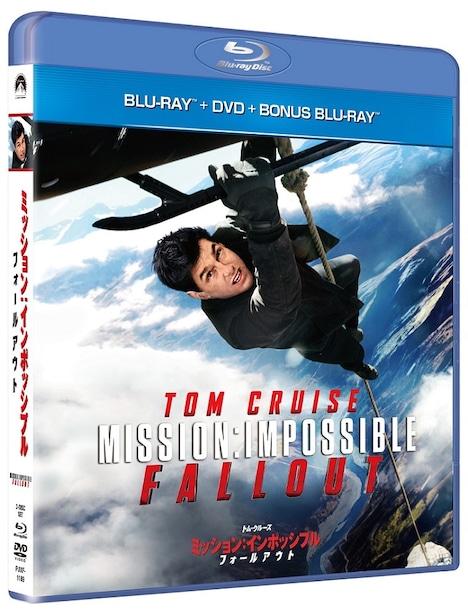 「ミッション:インポッシブル/フォールアウト」Blu-ray+DVDジャケット