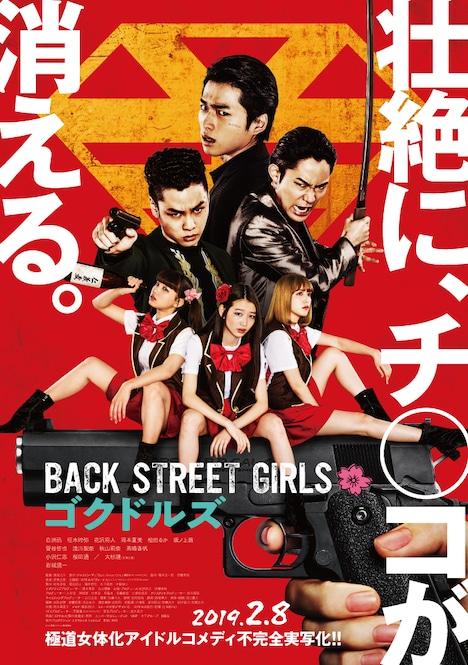 映画「BACK STREET GIRLS -ゴクドルズ-」ポスタービジュアル