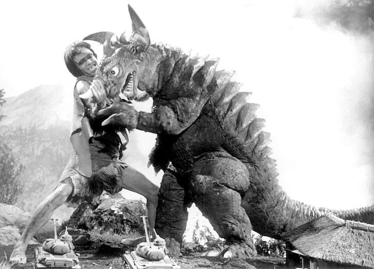 「フランケンシュタイン対地底怪獣(バラゴン)」 (c)1965 東宝