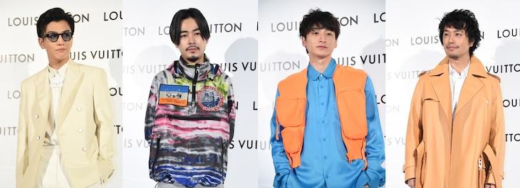 左から岩田剛典、成田凌、小関裕太、斎藤工。