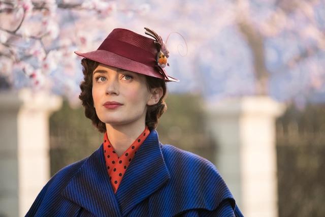 「メリー・ポピンズ リターンズ」より、エミリー・ブラント演じるメリー・ポピンズ。