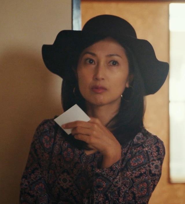 「日本ボロ宿紀行」より、鶴田真由演じる森田明美。