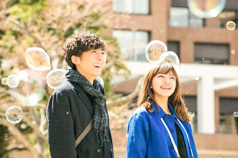 映画「九月の恋と出会うまで」ワンシーン。(c)松尾由美 / 双葉社 (c)2019 映画「九月の恋と出会うまで」製作委員