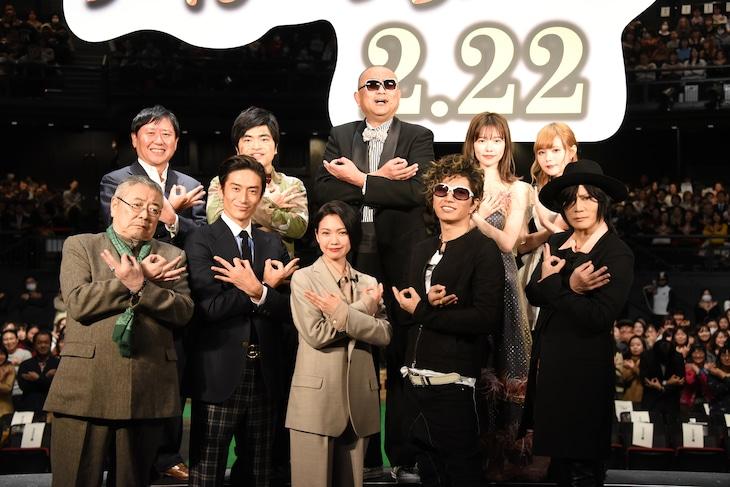 「翔んで埼玉」ジャパンプレミアの様子。